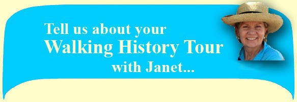 tell us about yout walking history tour with jon